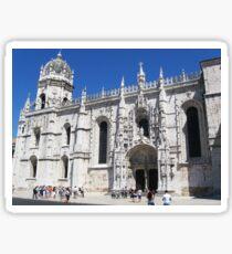Lisbon, 2011, Santa Maria de Belem Church #3 Sticker