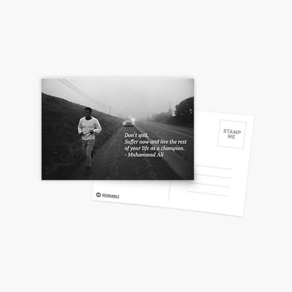 Muhammad Ali Postcard