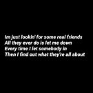 Real friends by qweenanngeee