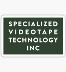 Pegatina SVT Specialized Videotape Technology INC