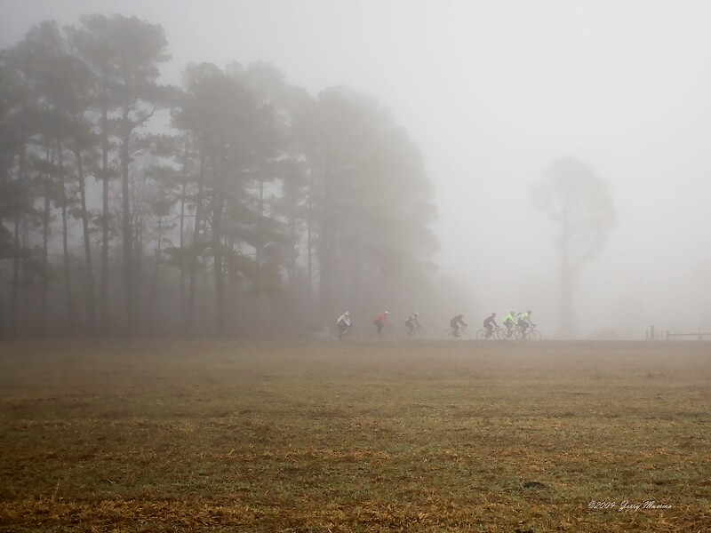 Riders in the Fog by Jerry  Mumma