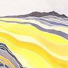 Yellow Foothills at Round Valley Regional by Carrie Alyson