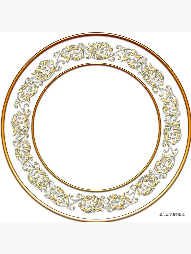Saucers Pattern by znamenski