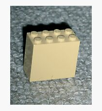 The Faded Lego Brick Photographic Print
