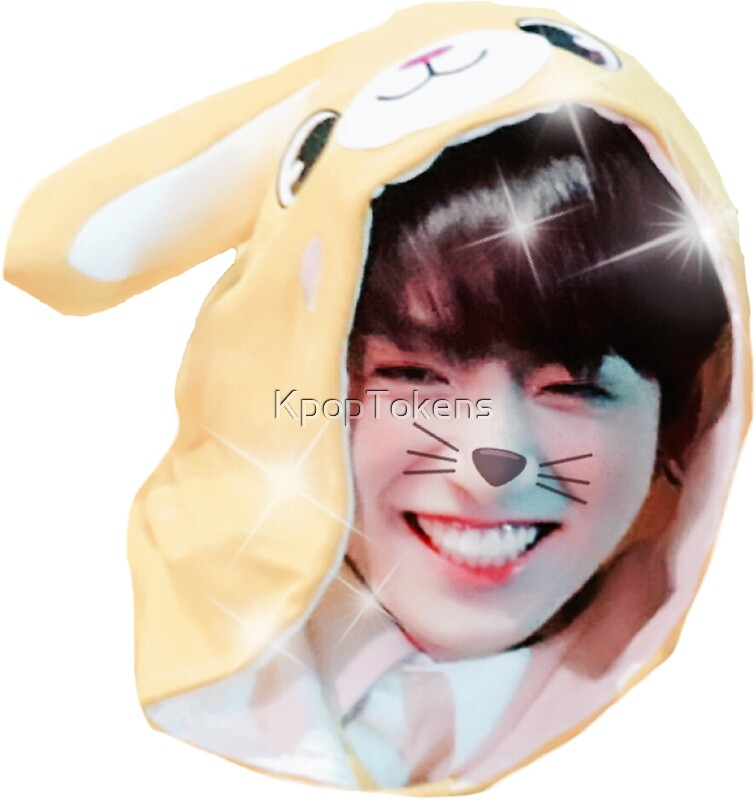 """Cute BTS Jungkook Sticker (4th Muster, Funny Onesie"