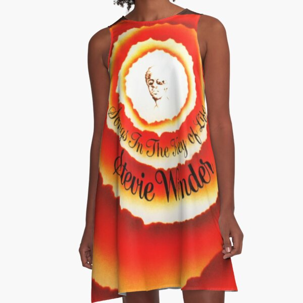 Songs in the key of life A-Line Dress