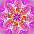 electric neon flower by LoreLeft27