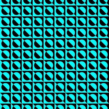 BlueBlack Pattern by ThugPigeon