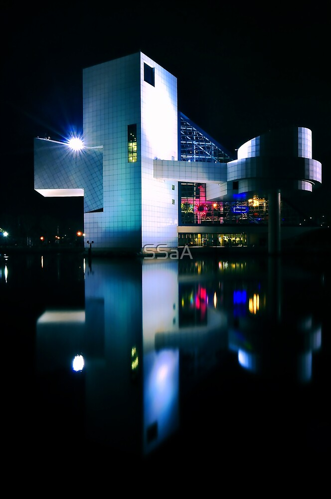 Rock & Roll Hall of Fame Museum - Rear View by SSaA