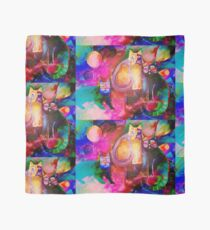 Colourful Cats Scarf