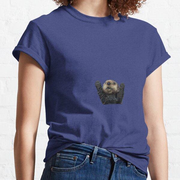 Otter Umarmungen Classic T-Shirt