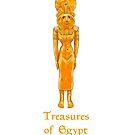 Golden goddess Sekhmet - treasures of Egypt by Elsbet
