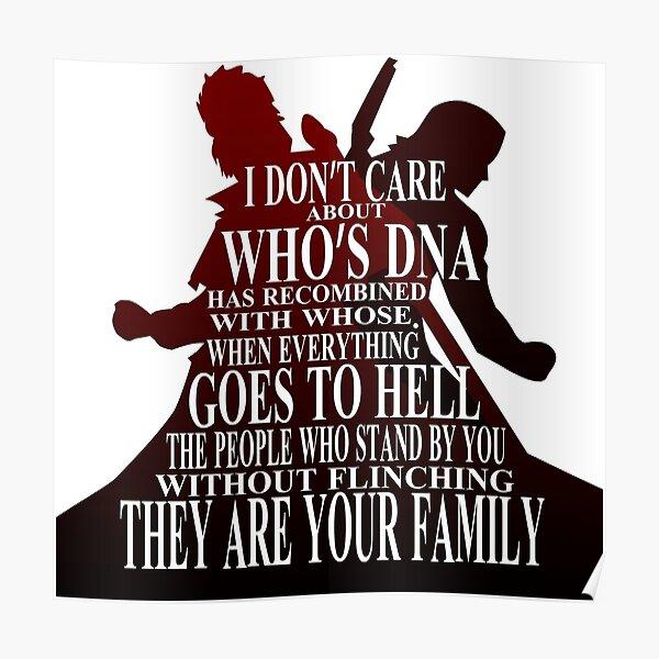 Family DNA Poster