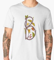 Natural alphabet  - letter B Men's Premium T-Shirt