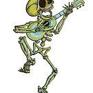 Skellywag Guitar Man by skullbrain