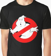 Ghostbusters Black Graphic T-Shirt