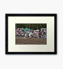 Picton Rodeo BR11 Framed Print
