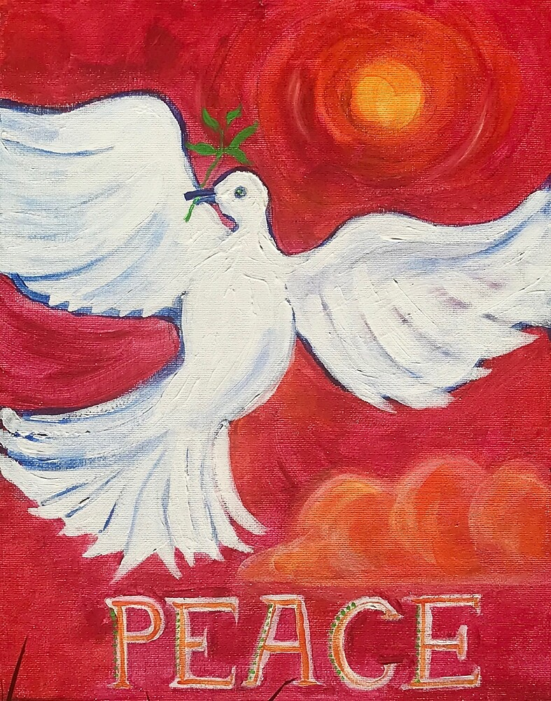 Peace  by Giselle Luske