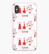 You and me and our chemistry of love. iPhone Case/Skin