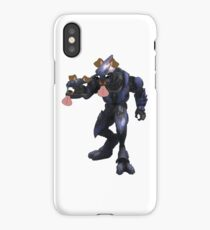 Your armour is quite impressive iPhone Case