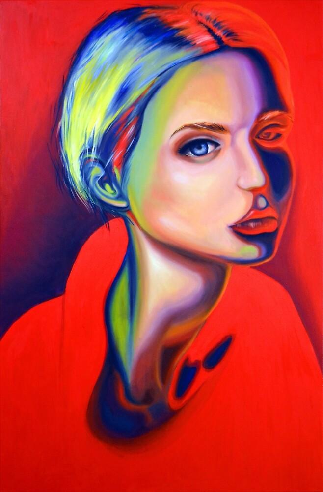 The world far below is on fire, 120-80 cm, 2018, oil on canvas by oanaunciuleanu