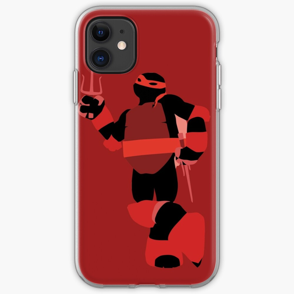 Tmnt Silhouettes Raphael 2012 Iphone Case Cover By Miztak