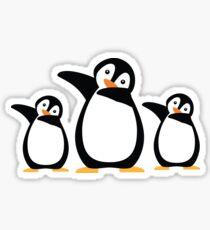 Dab Dabbing Penguin Funny for Penguin Lovers Sticker