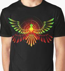 Mystical Phoenix Graphic T-Shirt