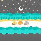 Sleepy Sheep Funky by Holly Bender