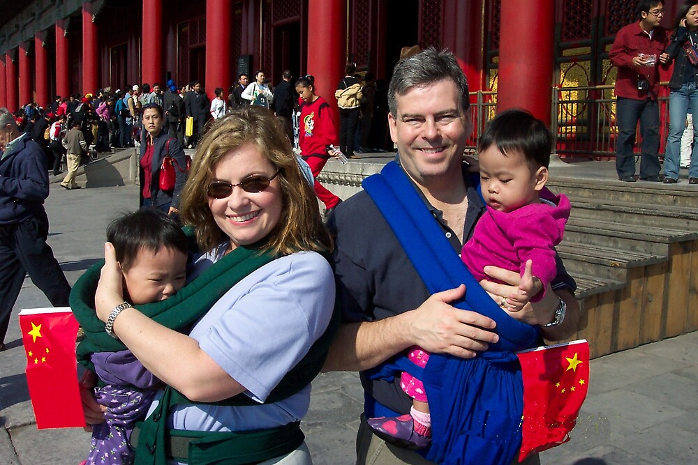 Four at the Forbidden City by Cameron  Allen Lamond