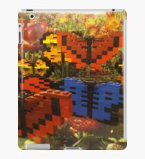 Lego Butterflies, Lego Store Fifth Avenue, New York City iPad Case/Skin