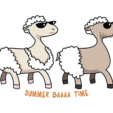 Summer baa sheep time by yolan