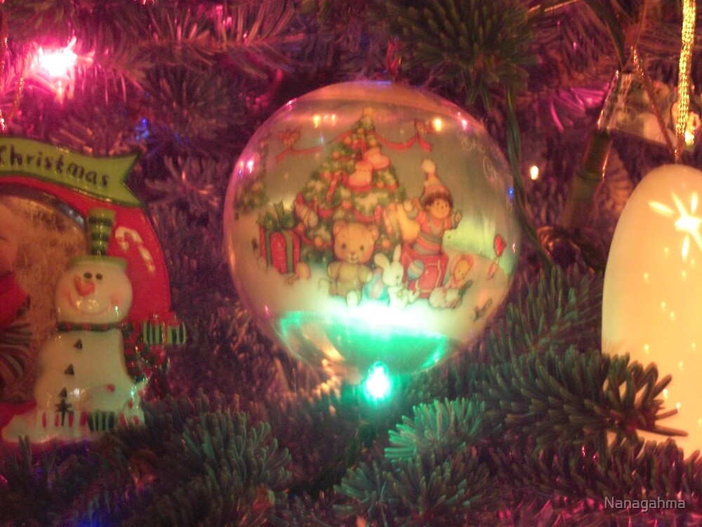 Baby's 1st Christmas ornament by Nanagahma