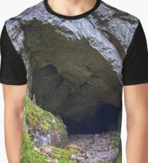Panorama of a cave Graphic T-Shirt