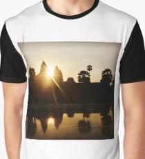 Angkor Wat Sunrise Graphic T-Shirt