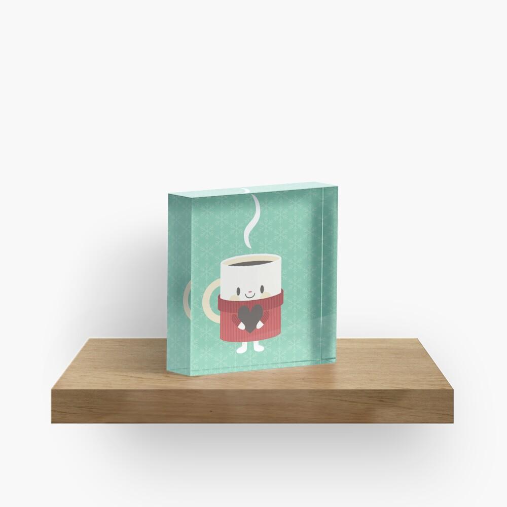 Cute hot cocoa mug Acrylic Block