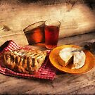 Bread, Wine and Camembert... by jean-louis bouzou