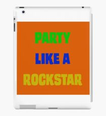 Rockstar Party iPad Case/Skin