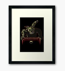 Fazbear's Fright: The Horror Attraction Framed Print