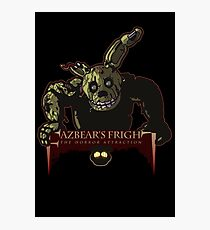 Fazbear's Fright: The Horror Attraction Photographic Print
