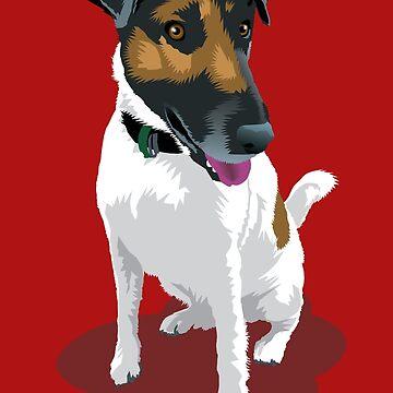Foxy Terrier by aartytees