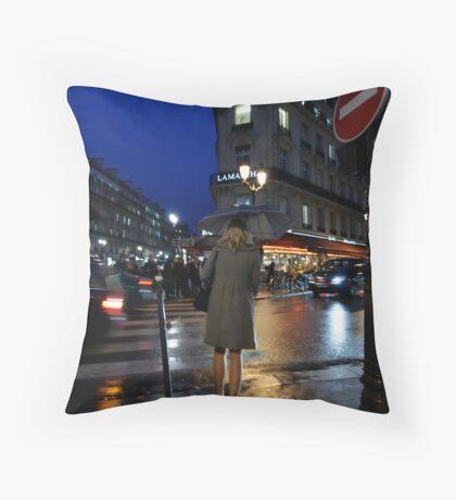 Avenue de l'Opera Throw Pillow