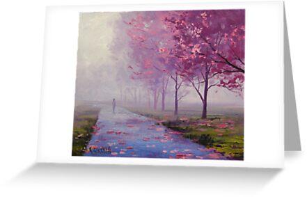 Spring Blossom Pathway by Graham Gercken