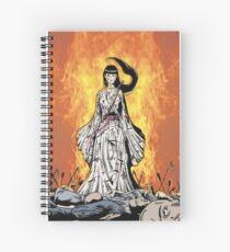 White Crane's revenge, kung fu girl's revenge Spiral Notebook