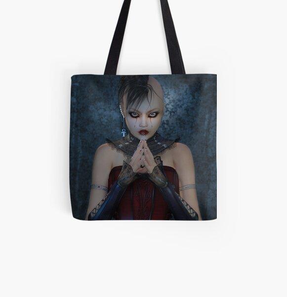 Melancholy All Over Print Tote Bag