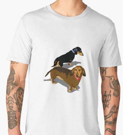 Dachshunds Men's Premium T-Shirt