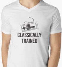 Classically Trained Nintendo T-Shirt Men's V-Neck T-Shirt