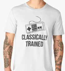 Classically Trained Nintendo T-Shirt Men's Premium T-Shirt