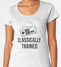 Classically Trained Nintendo T-Shirt Women's Premium T-Shirt