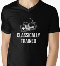 Classically Trained Nintendo T-Shirt Men's V-Neck T-Shirt